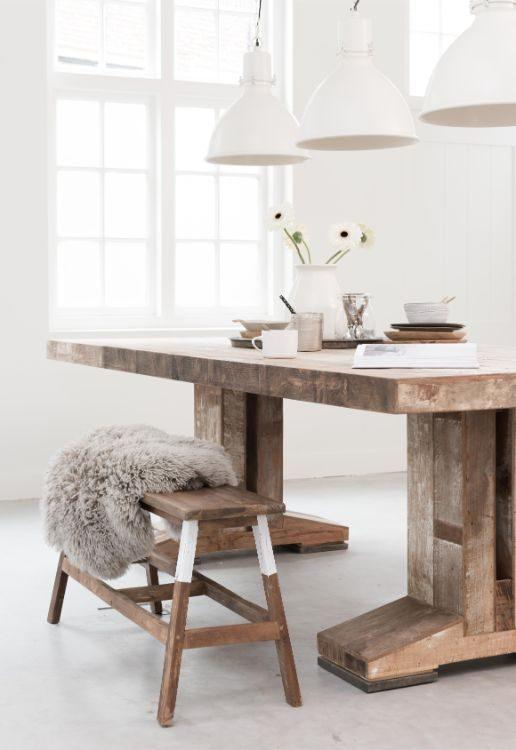houten eetafel lichte ruimte-0496
